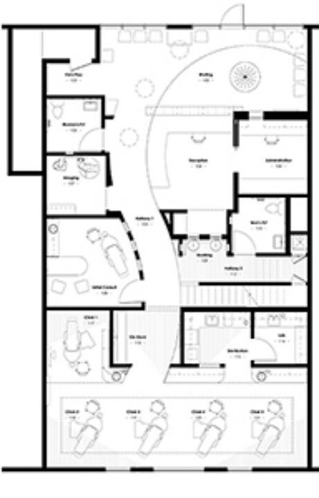 17 best images about dental office design plans on pinterest dental office design medical for Orthodontic office design floor plan