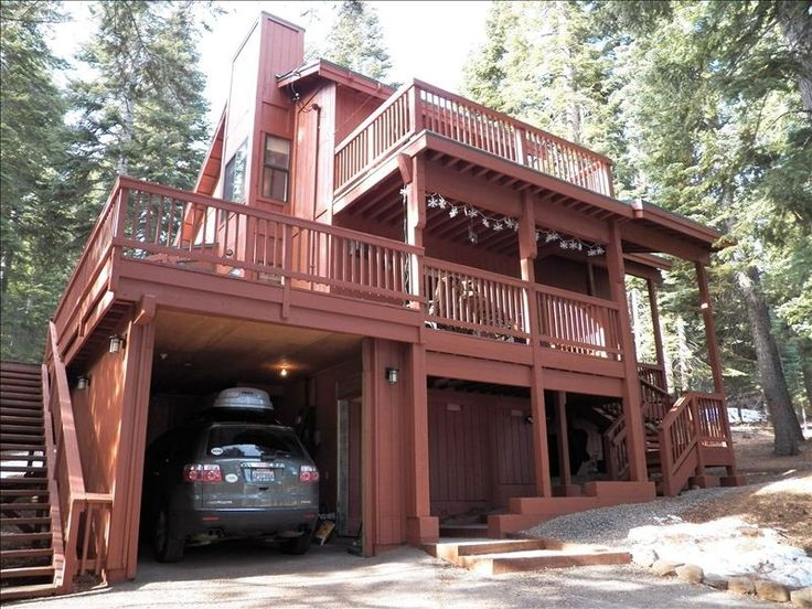 30 best carport with deck images on pinterest carport for Garage under deck