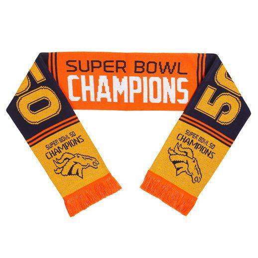 Denver Broncos Super Bowl 50 Champions Scarf