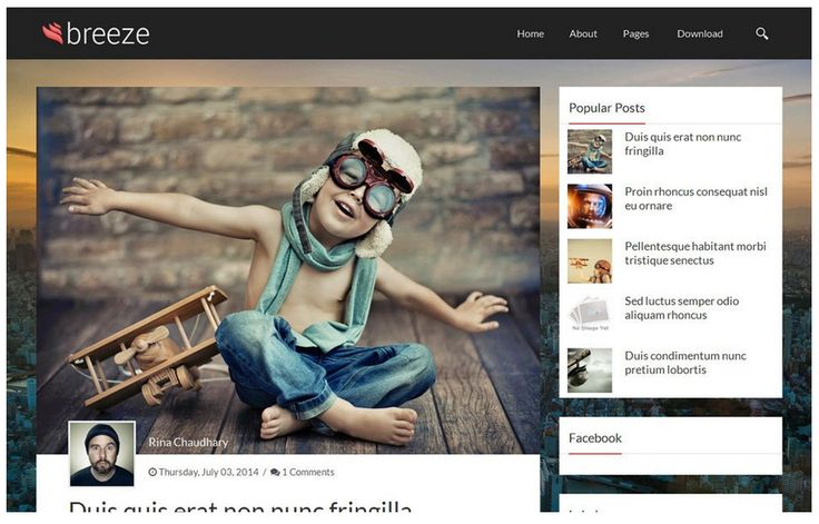 20 Responsive Blogger Templates