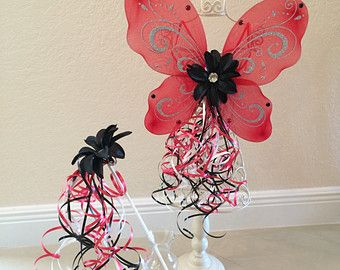 Red Fairy Wings, Lady Bug Costume, Fairy Wings, Lady Bug Party Favors, Fairy Costume, Tinkerbell Wings, Lady Bug Wings