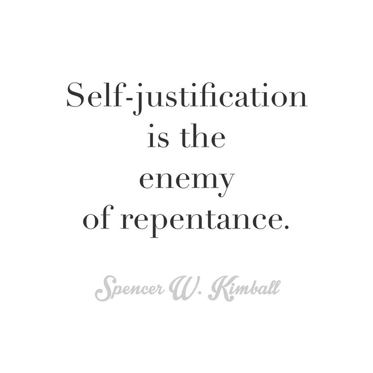Self-justification -Spencer W Kimball   Quotes   Pinterest   LDS ...