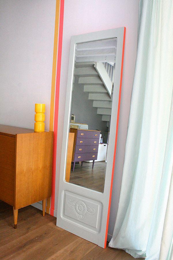 Les 575 meilleures images propos de bricolage sur for Grand miroir long