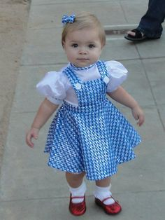 dorothy baby halloween costume - Google Search