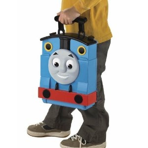 This is perfect for my nephew who is obsessed with Thomas!!    $17.99 Thomas the Train: Take-n-Play Tote-a-Train Playbox