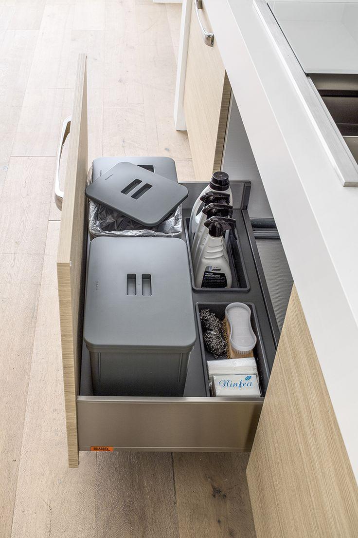 arrex le cucine cassetti belli e funzionali per la tua cucina