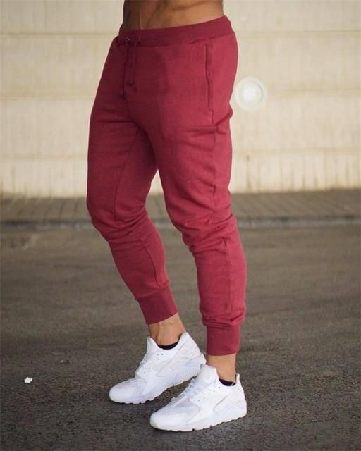6bcc4117043 spring winter men casual pants sweatpants male running jogging leisure fitness  gym workout athletic pants trousers active wear