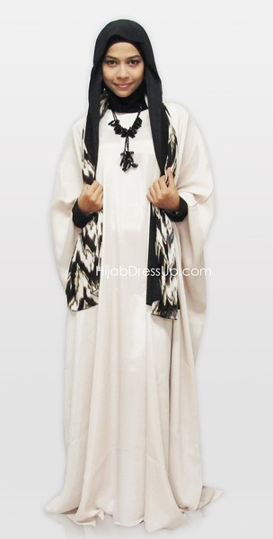 Butterfly Abaya Set $65  http://www.hijabdressup.com/collections/frontpage/products/abaya-butterfly-bf008