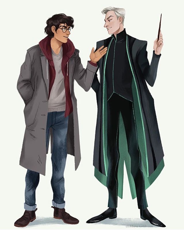 Harry Potter and Draco Malfoy beauty