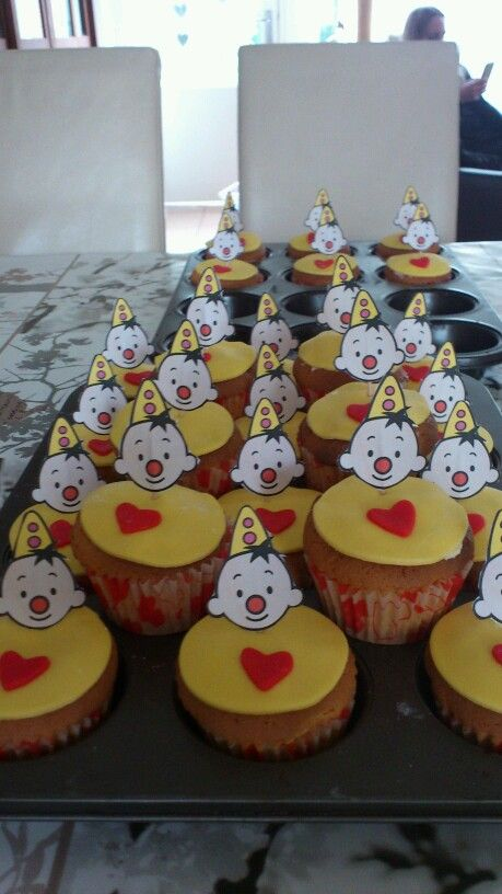 Bumba cupcakes voor mijn kleinzoon Finn