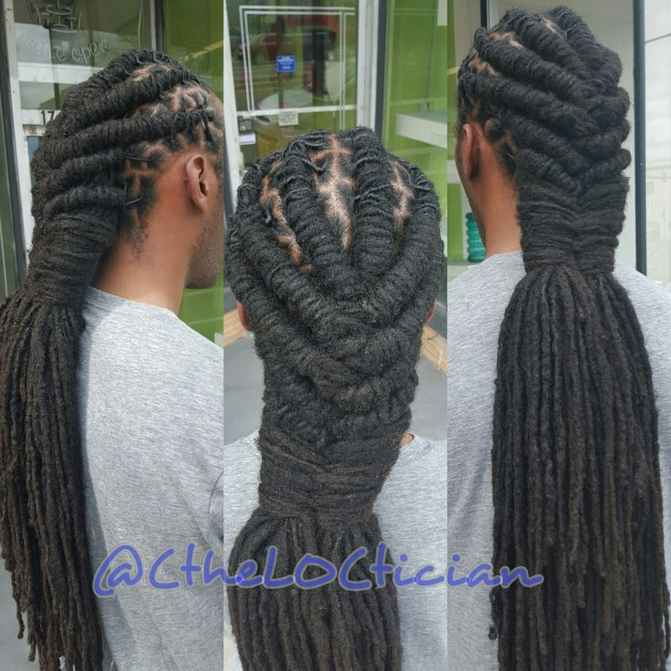Men's loc styles, Locs, locs with color, ombre, wedding hair, loc styles, updos, loc updos, nice locs, beautiful locs, beautiful hair, braids, natural hair, loctician in Jacksonville Florida, best styles for everyday wear, hair art, loc art, not dread locs, Ciara the LOCTICIAN, CtheLOCtician.com, @CtheLOCtician
