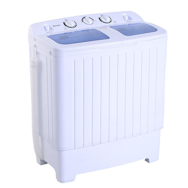 Apartment Washer And Dryer: Amazon.com: Giantex Portable Mini Compact Twin Tub 11lb