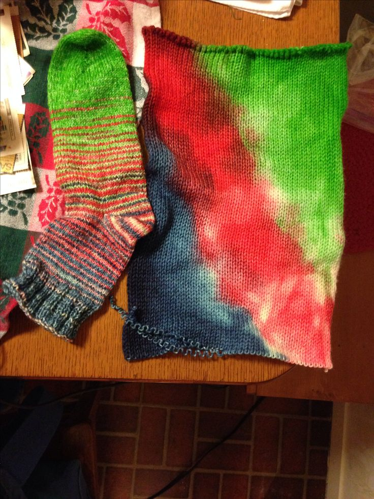 Sock and sock blank