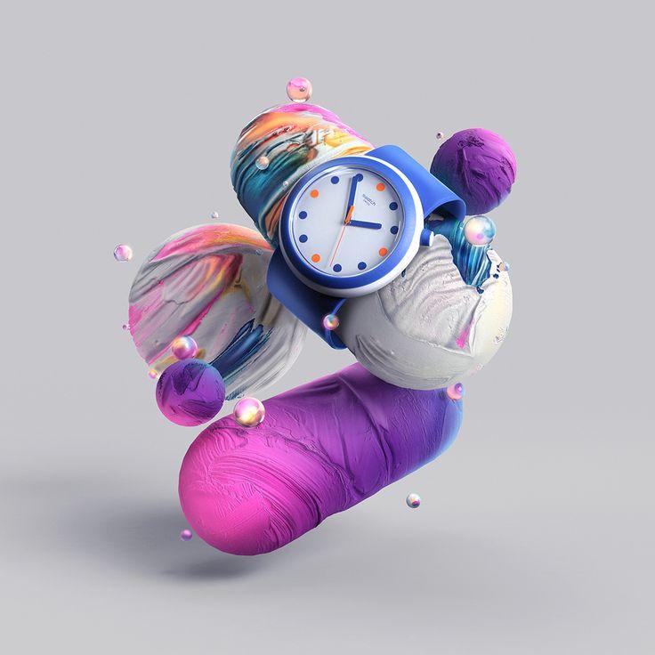 Swatch POP | Abduzeedo Design Inspiration