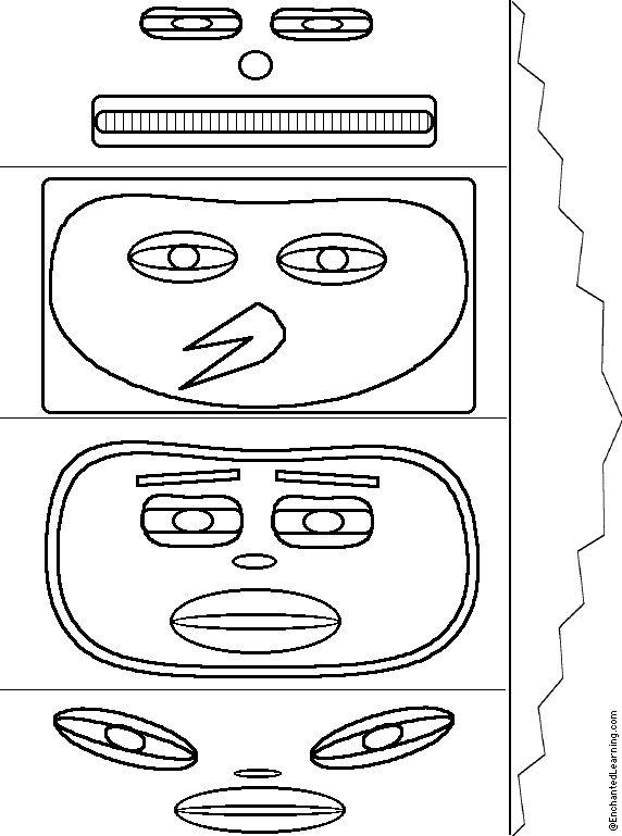 tlingit totem poles coloring pages - photo#38