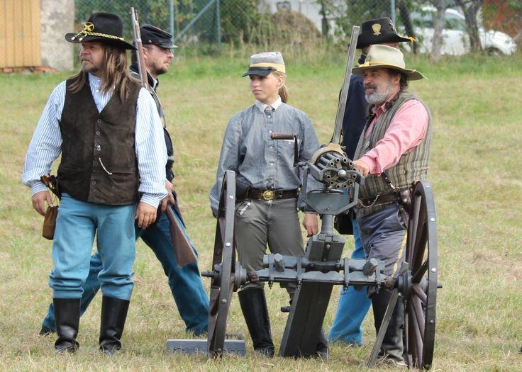 Vynálezy americké občanské války, díl první: Pušky, kulomety, děla a granáty