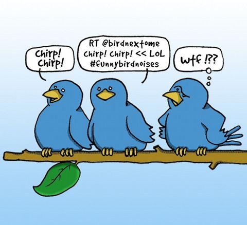 Tweet message
