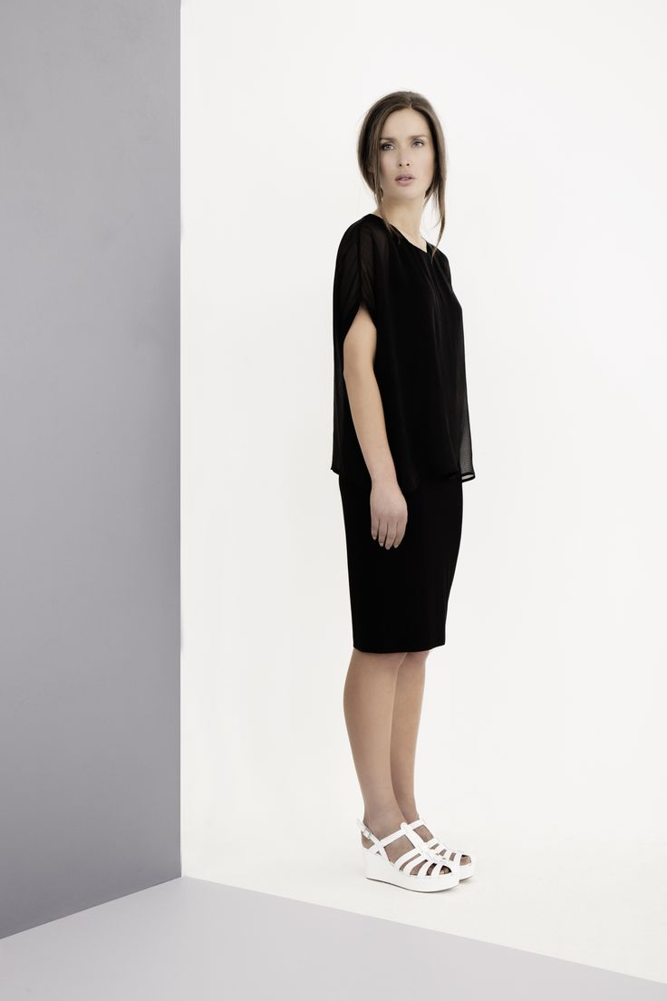 Classic shapes in light, fluid fabrics by Carolyn Donnelly The Edit