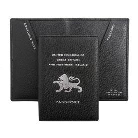 For my jetsetting friends - classic passport cover $115