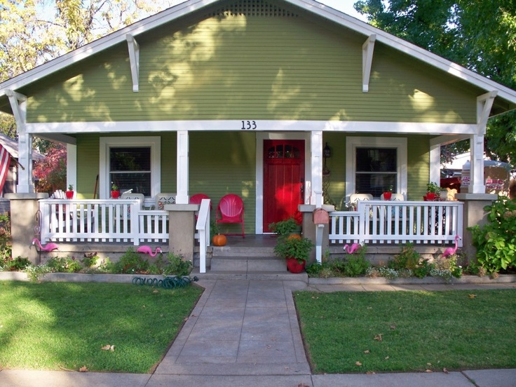 California craftsman bungalow i can dream pinterest for Californian bungalow front door