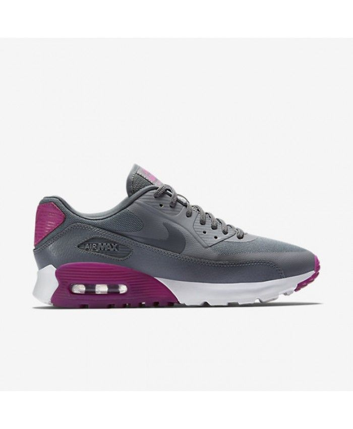Nike Air Max 90 Ultra Essential Cool Grey Pink Shoes Sale