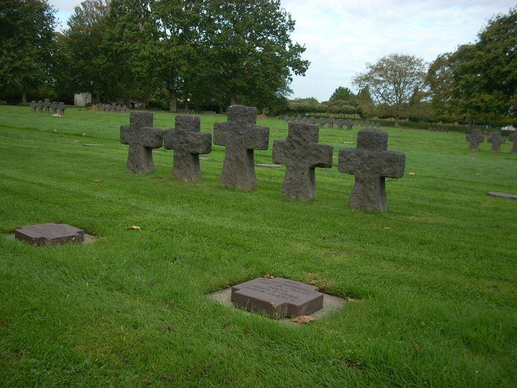 German Cemetery La Cambe, La Cambe