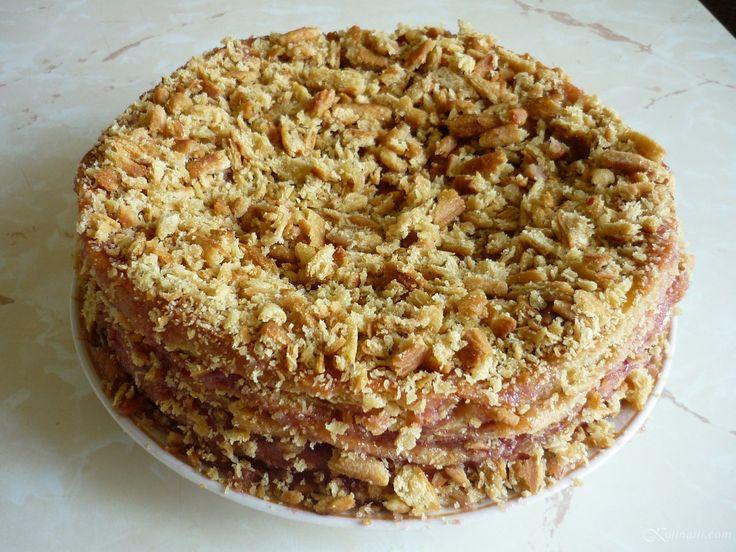 Постный торт-медовик