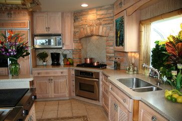 Kitchen designs with corner stoves best stoves for Corner cooktop designs kitchen