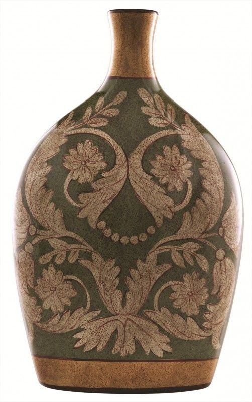 çiçekli modern seramik vazo modelleri