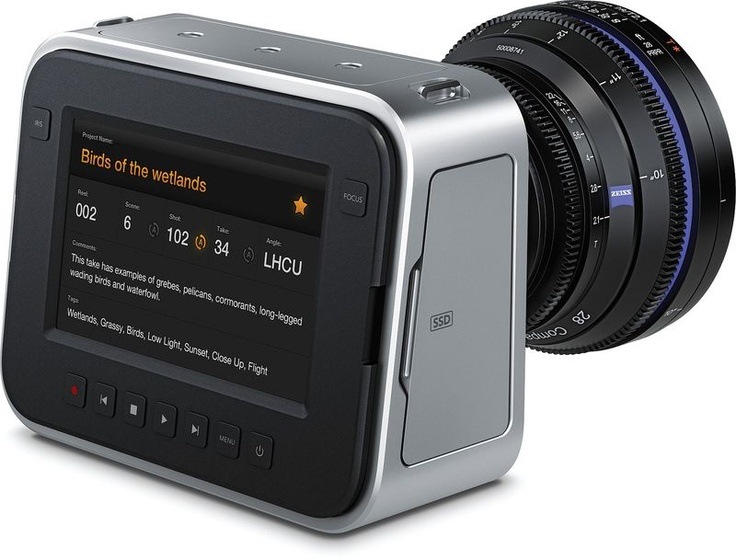 Blackmagic Cinema Camera deliver professional quality videos at an affordable price. Perfect for amateur film makers.