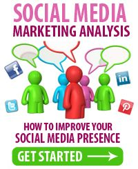 Free Social Media Marketing Analysis - Are you interested in learning how you can take advantage of the ever-growing world of social media marketing?