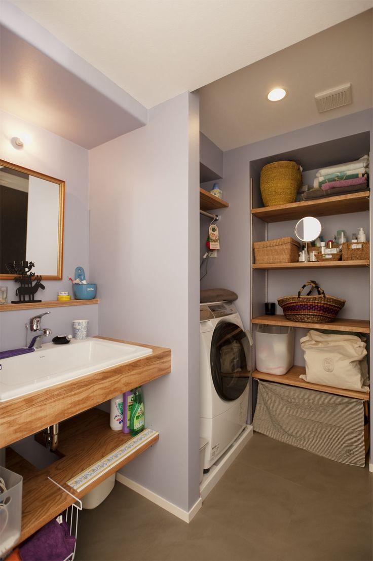 リフォーム・リノベーションの事例|洗面室|施工事例No.324雑貨の映えるアパルトマンの暮らし|スタイル工房