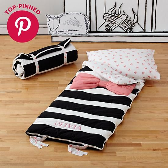 Candy Bow Sleeping Bag Pink