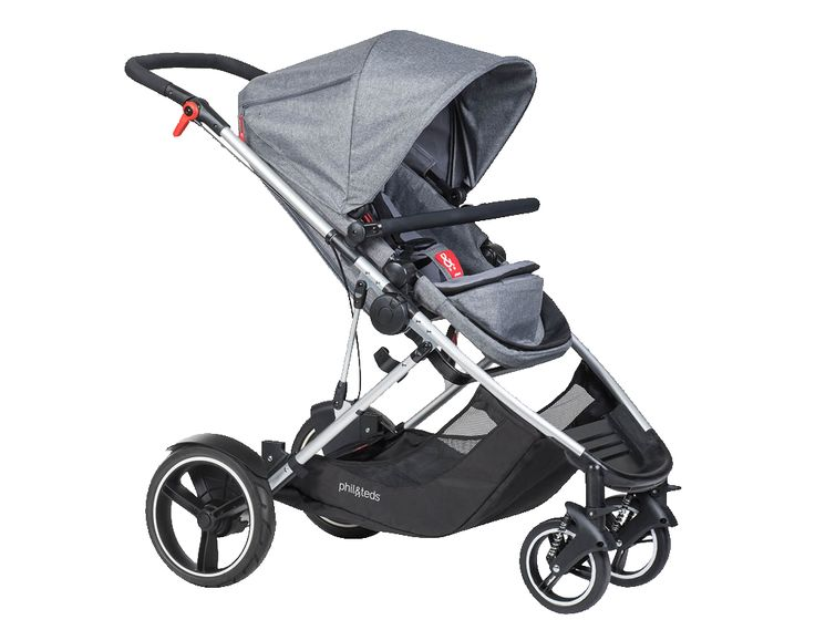 Phil&Teds Voyager Buggy grey marl 2017 (lowest price found online for DE)