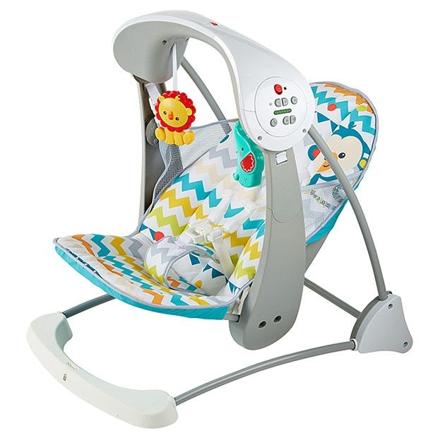 Fisher Price Colourful Carnival Take Along Swing Seat