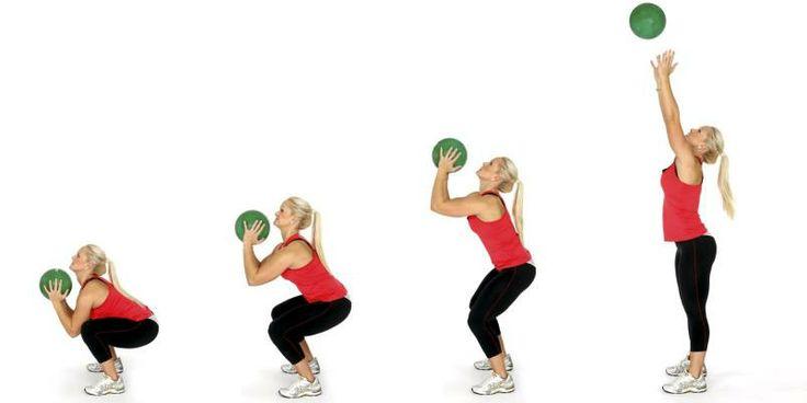 øvelser med medisinball