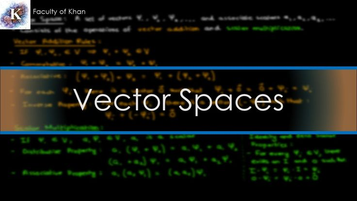 Mathematical Basis of Quantum Mechanics: Introduction to Vector Spaces