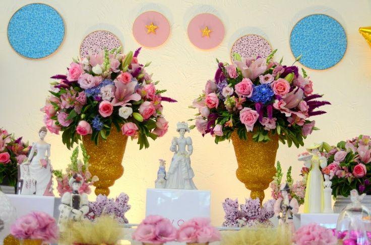 Combinação entre rosa, dourado e azul!! Wedding , casamento