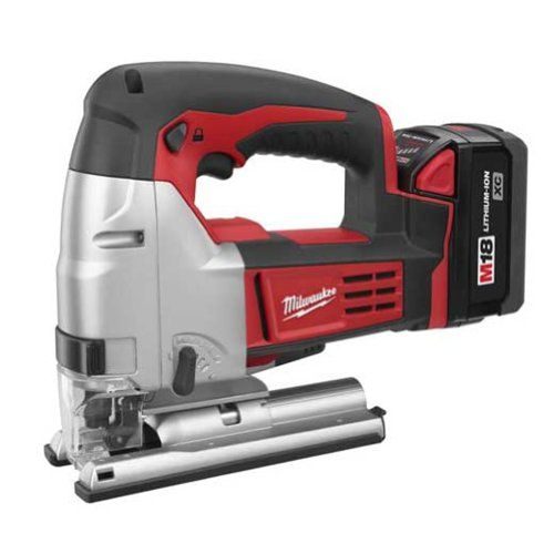 Milwaukee 2645-22 18-Volt M18 Jig Saw https://cordlesscircularsawreview.info/milwaukee-2645-22-18-volt-m18-jig-saw/