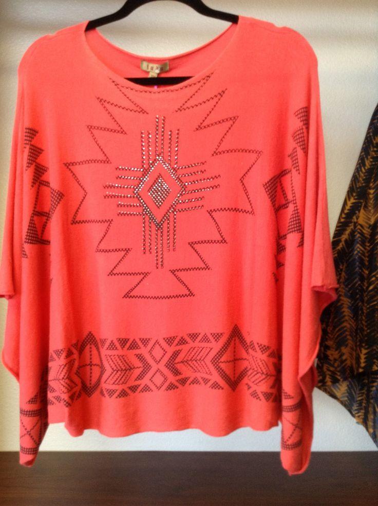KD Coral Aztec Shirt