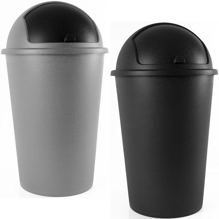 poubelle 50 litres couvercle basculant 68cm x 40cm amazonfr cuisine