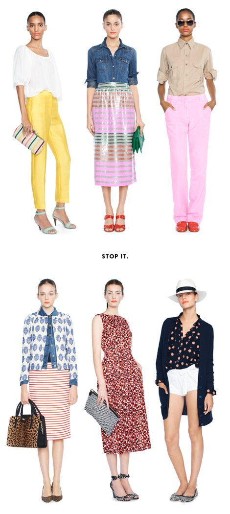 "J.Crew Collection ""special preview"" email list."