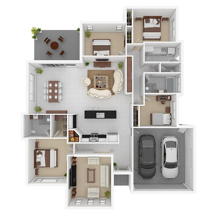 Architectural 3d Floor Plan Rendering: Best 20+ 3d Architecture Ideas On Pinterest