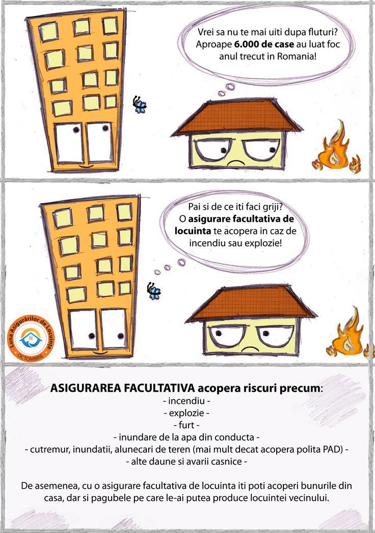 Anul trecut, aproape 6.000 de case din #Romania au fost afectate de #incendii. Asigura-ti locuinta! Afla mai multe despre politele facultative pe http://bit.ly/asigurareFacultativa #lunaasigurarilordelocuinte #asigurari #CasafaraGriji