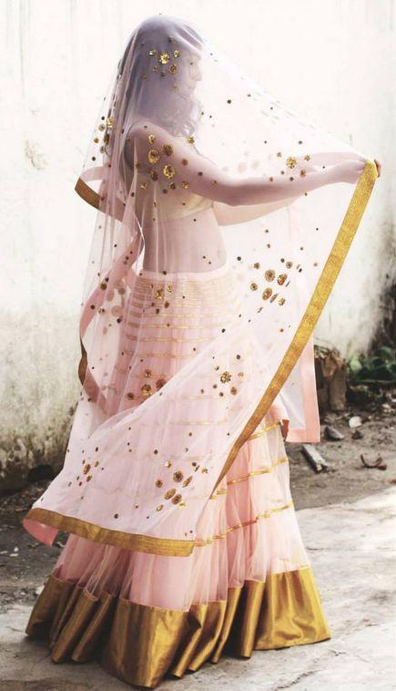Priyal Prakash #lehenga #choli #indian #shaadi #bridal #fashion #style #desi #designer #blouse #wedding #gorgeous #beautiful