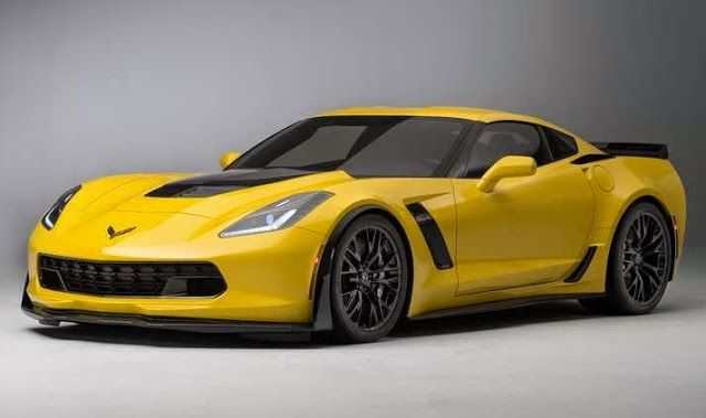 Chevrolet Corvette Z07 front view