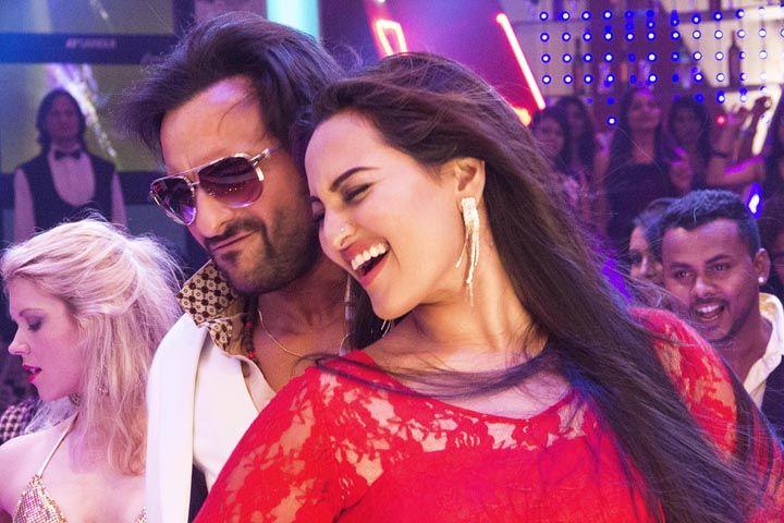 Saif and Sonakshi impromptu dancing for 'Tamanche Pe Disco'