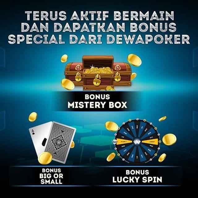 Bonus Special Dewapoker Permainan Kartu Kartu Ruang Permainan