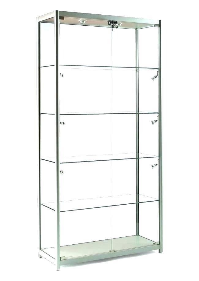 Detolf Glass Door Cabinet Lighting White Ikea Detolf Cabinet