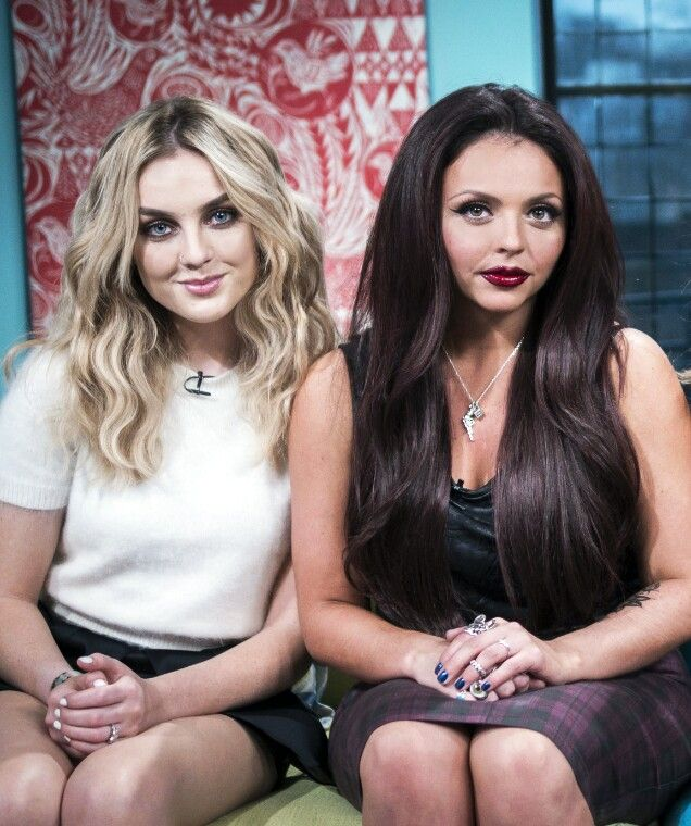Jesy Nelson And Perrie Edwards Perrie Edwards & J...